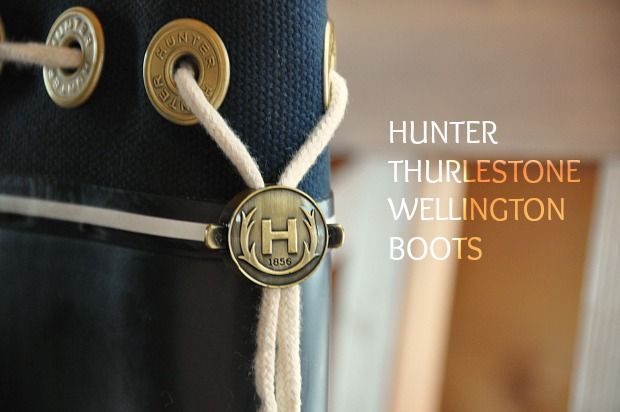 HUNTER  THURLESTONE 221WELLINGTON BOOTS