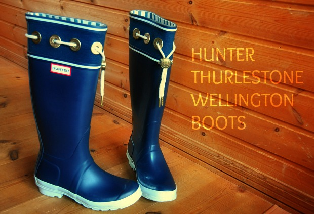 HUNTER  THURLESTONE 90WELLINGTON BOOTS