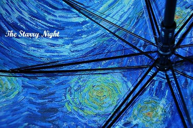おしゃれ傘丈夫そう!雨にゴッホが映える傘アートを日常にMoMAデザインストア