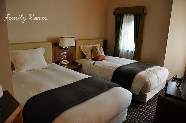 家族旅行オススメ宿ホテル ベルナティオの広い客室安い新潟当間高原泊る