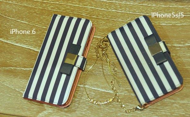 アイフォンケース手帳型iPhone可愛いLa Boutique DELA MAISONクリスマスプレ