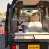 キャンピングカー軽自動車改造エブリィEVERYスズキCAMPER車中泊できる口コミ
