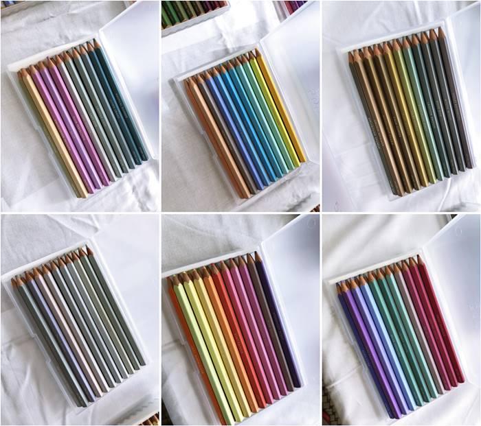 フェリシモの500色の色鉛筆